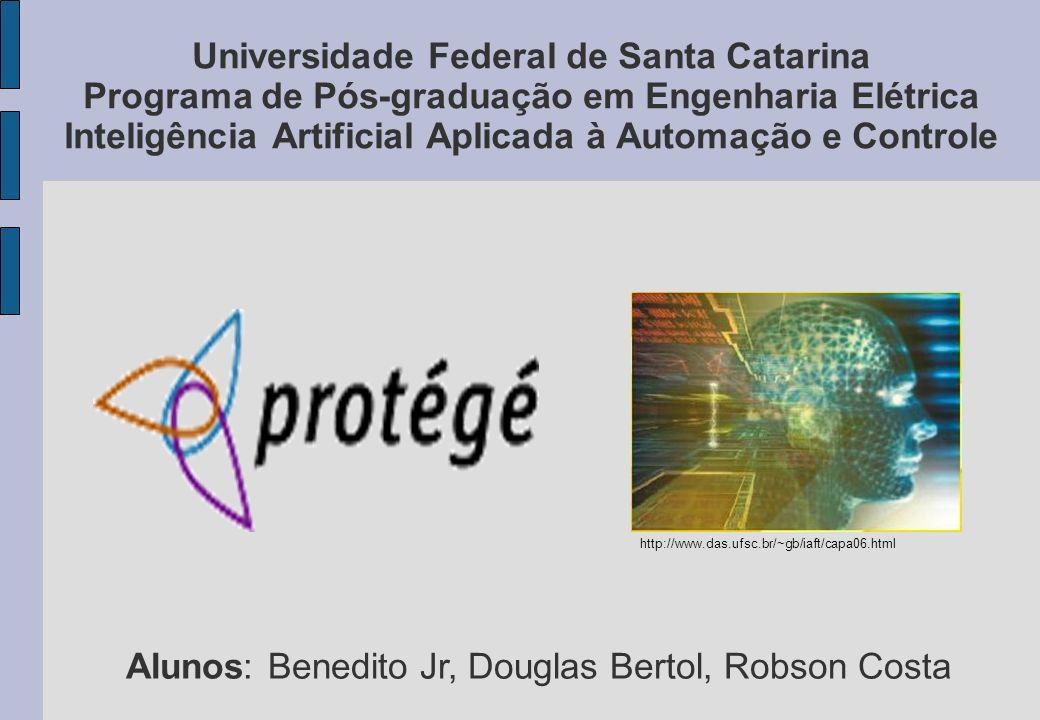 Alunos: Benedito Jr, Douglas Bertol, Robson Costa