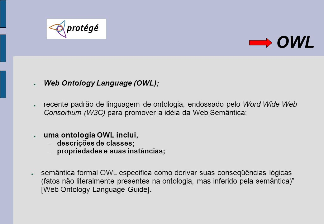 OWL Web Ontology Language (OWL);