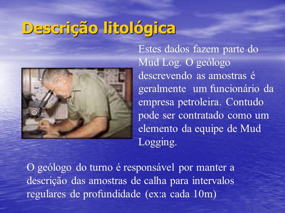 Descrição litológica