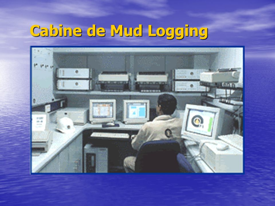 Cabine de Mud Logging