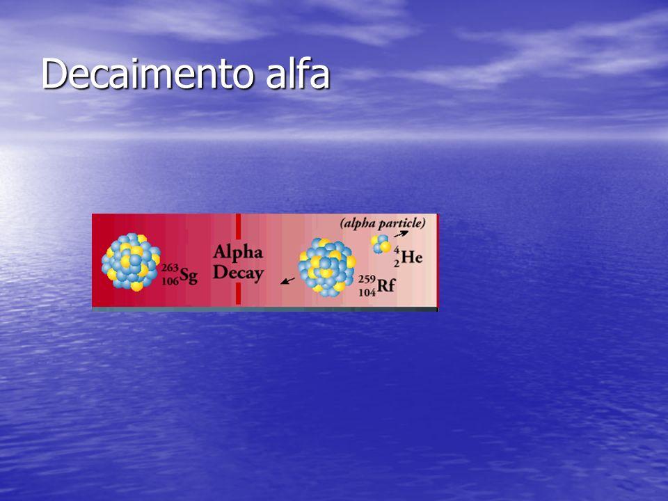 Decaimento alfa