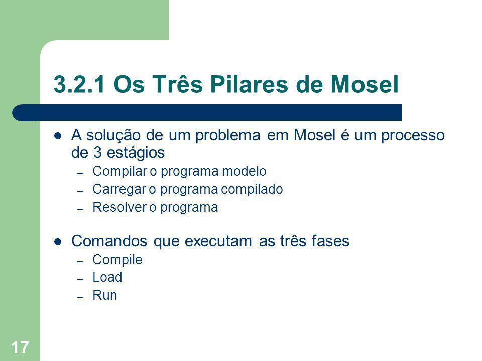 3.2.1 Os Três Pilares de Mosel
