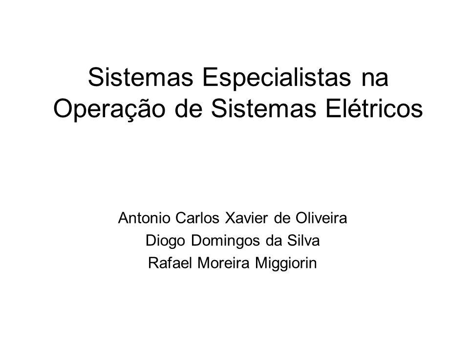 Sistemas Especialistas na Operação de Sistemas Elétricos