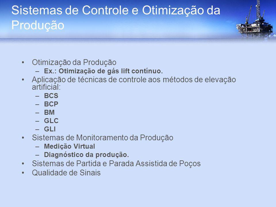 Sistemas de Controle e Otimização da Produção