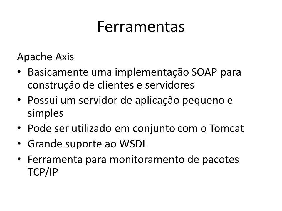Ferramentas Apache Axis