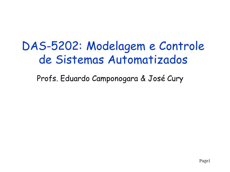 DAS-5202: Modelagem e Controle de Sistemas Automatizados