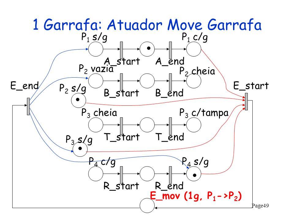 1 Garrafa: Atuador Move Garrafa