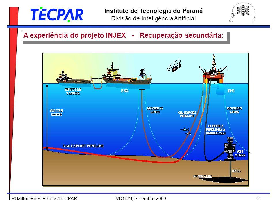 A experiência do projeto INJEX - Recuperação secundária: