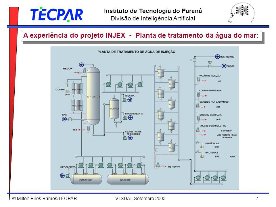 A experiência do projeto INJEX - Planta de tratamento da água do mar: