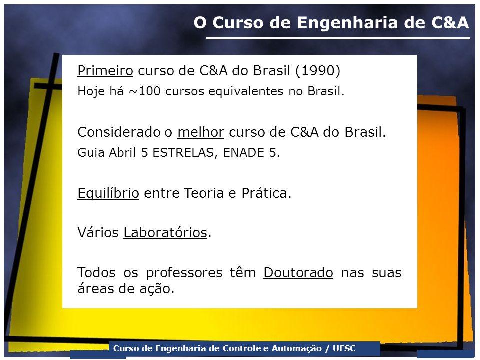 O Curso de Engenharia de C&A