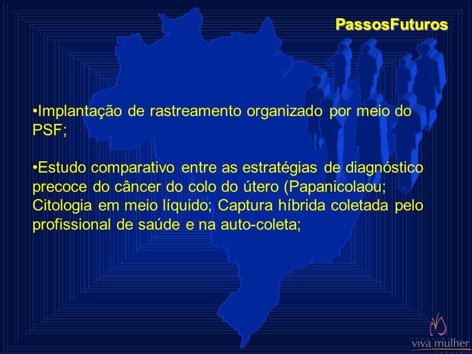 PassosFuturos Implantação de rastreamento organizado por meio do PSF;