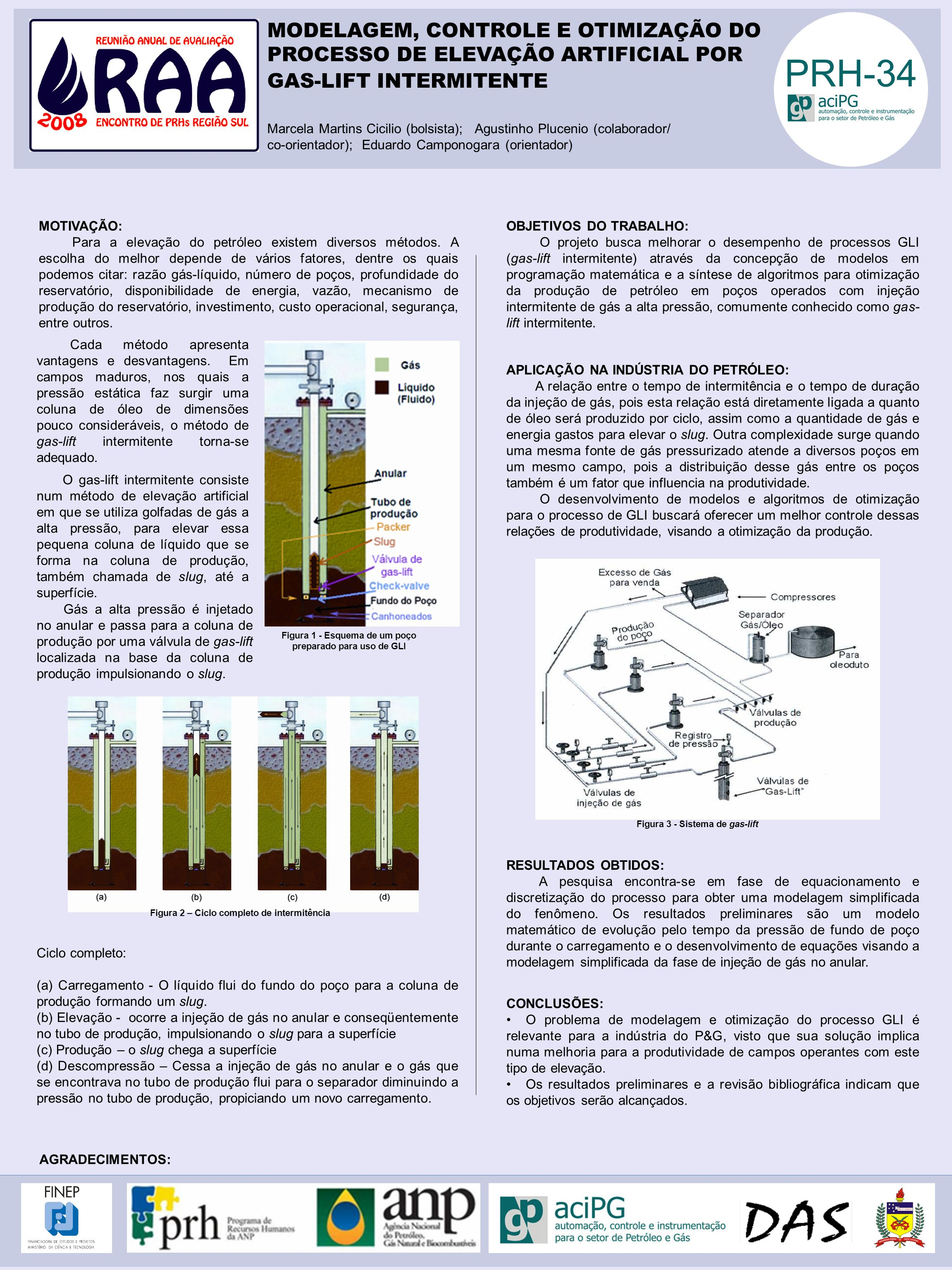 MODELAGEM, CONTROLE E OTIMIZAÇÃO DO PROCESSO DE ELEVAÇÃO ARTIFICIAL POR GAS-LIFT INTERMITENTE