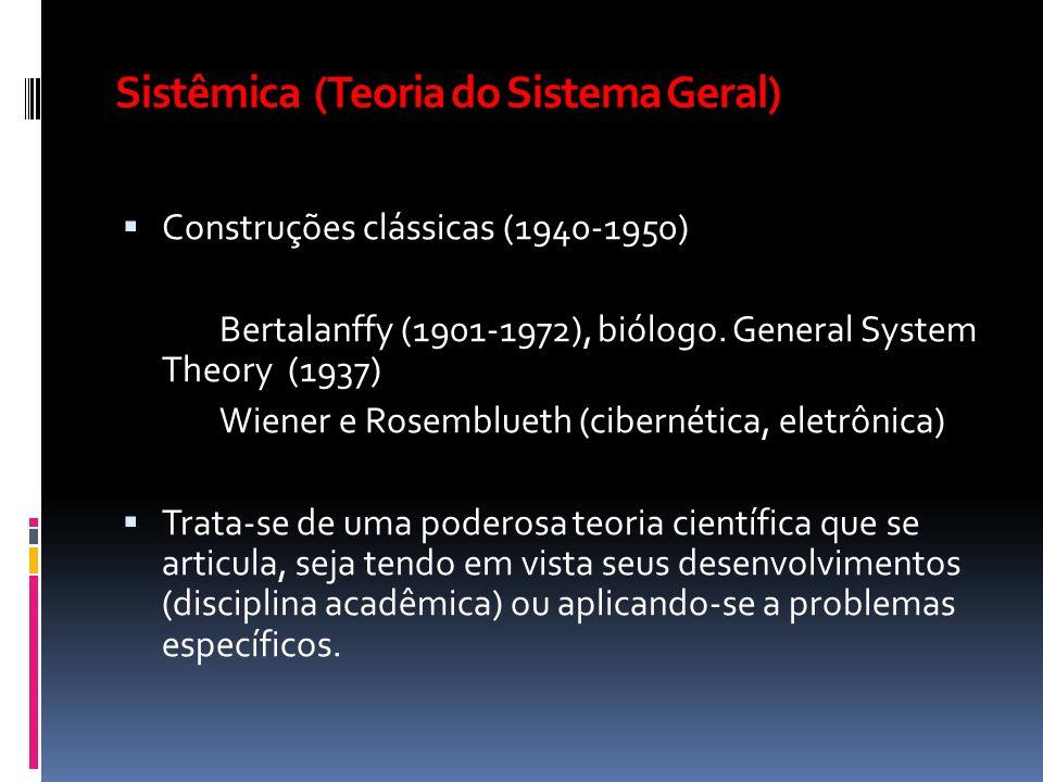 Sistêmica (Teoria do Sistema Geral)