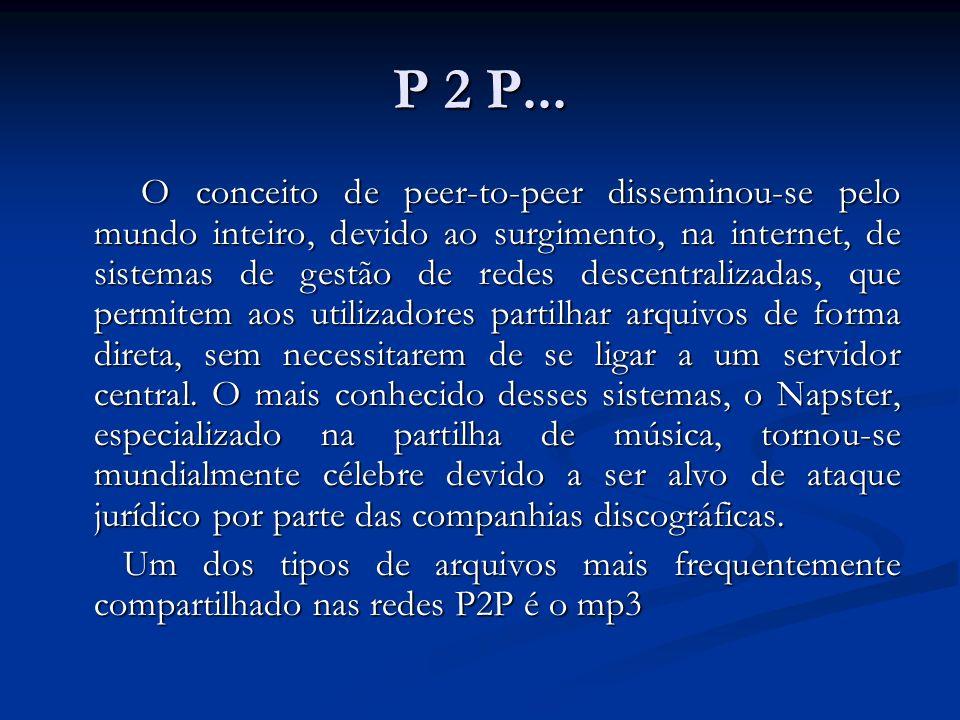 P 2 P...