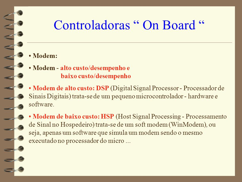 Controladoras On Board