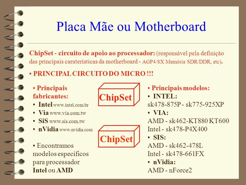 Placa Mãe ou Motherboard
