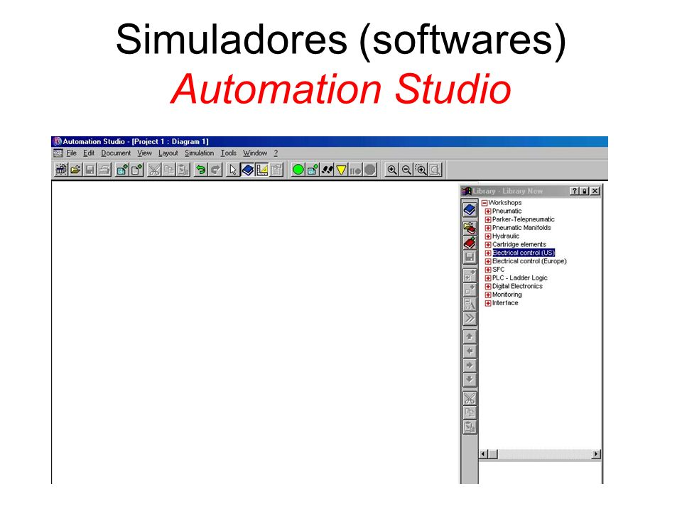 Simuladores (softwares) Automation Studio