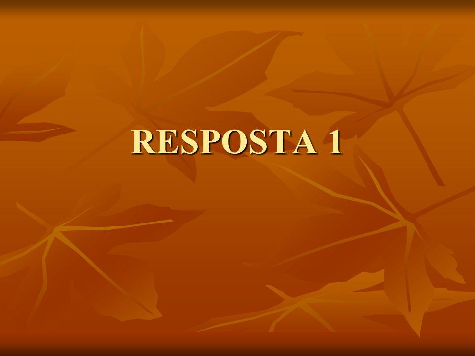 RESPOSTA 1