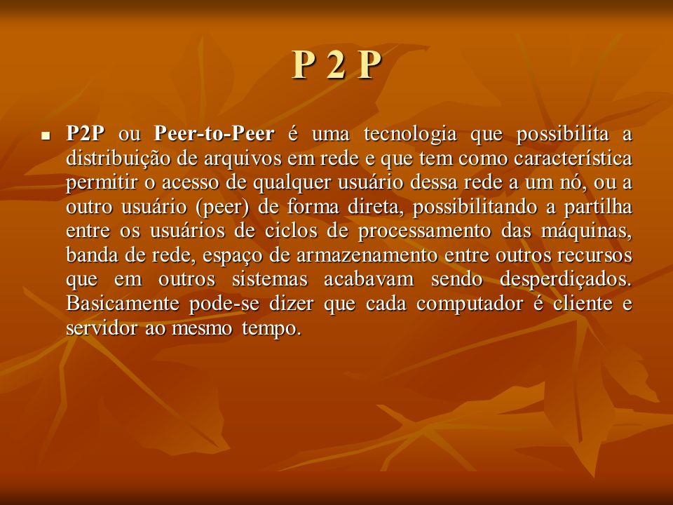 P 2 P