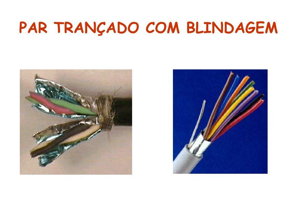 PAR TRANÇADO COM BLINDAGEM