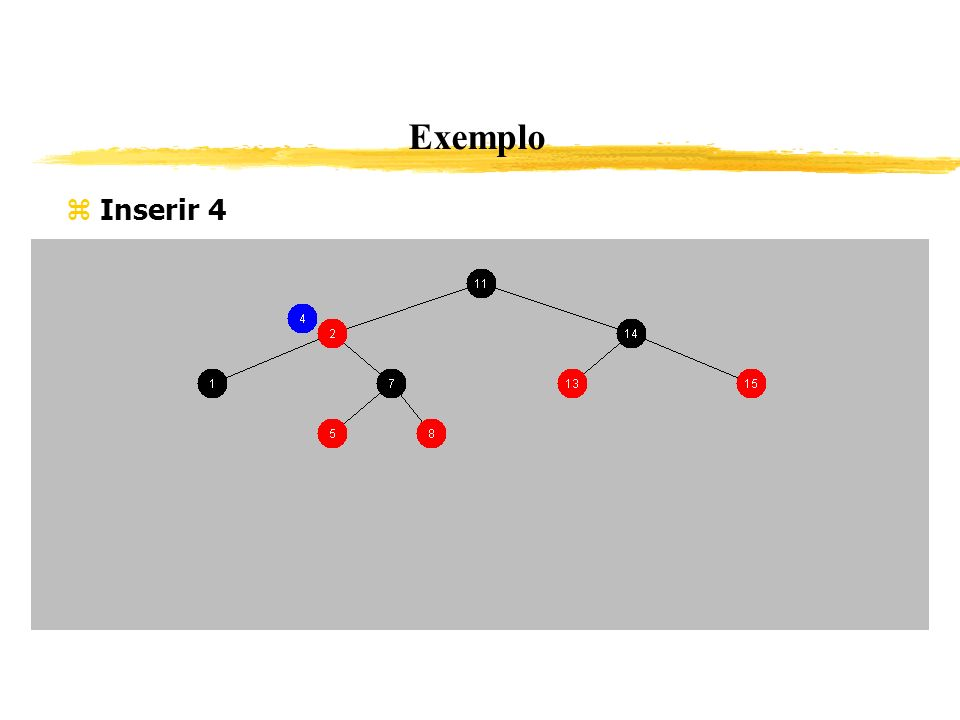 Exemplo Inserir 4 353