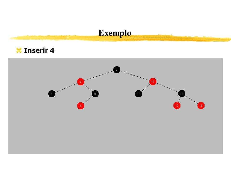 Exemplo Inserir 4 365