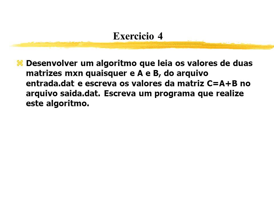 Exercicio 4