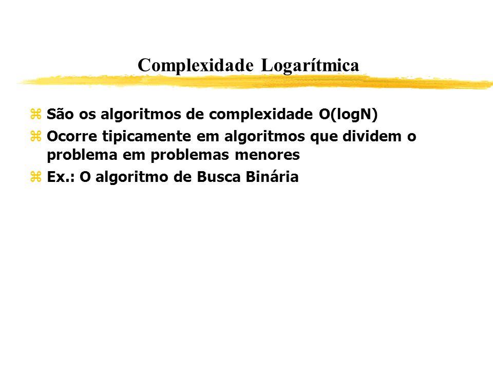 Complexidade Logarítmica