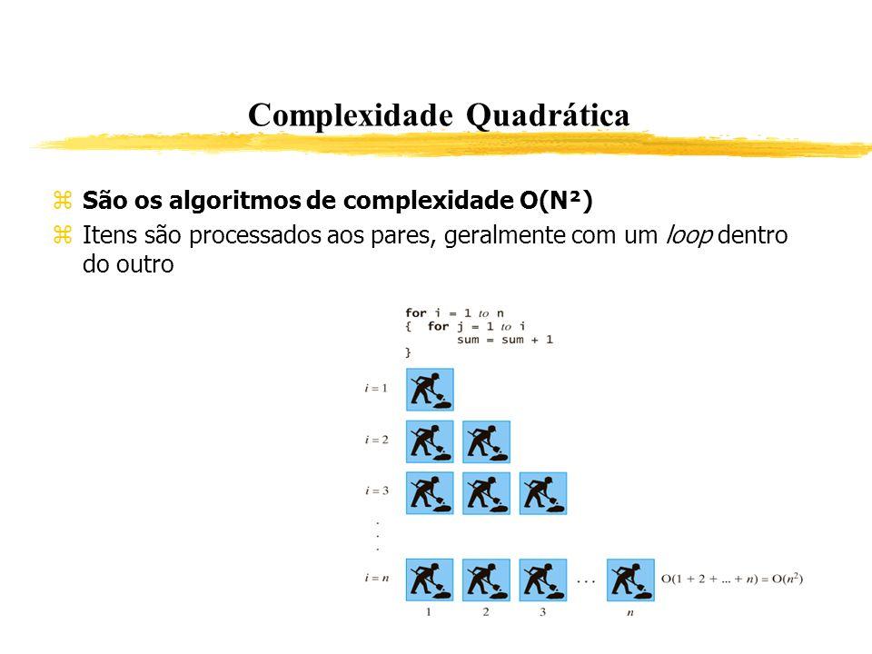 Complexidade Quadrática
