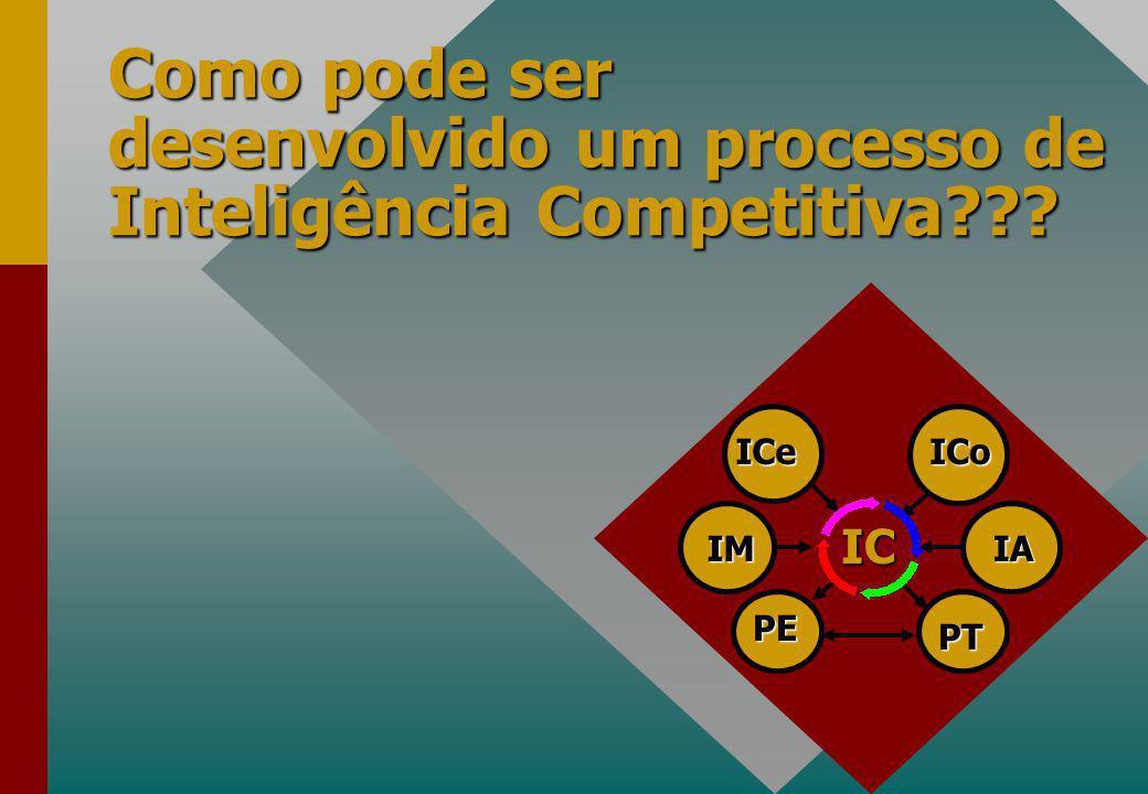 Como pode ser desenvolvido um processo de Inteligência Competitiva