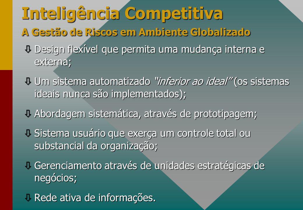 Inteligência Competitiva A Gestão de Riscos em Ambiente Globalizado