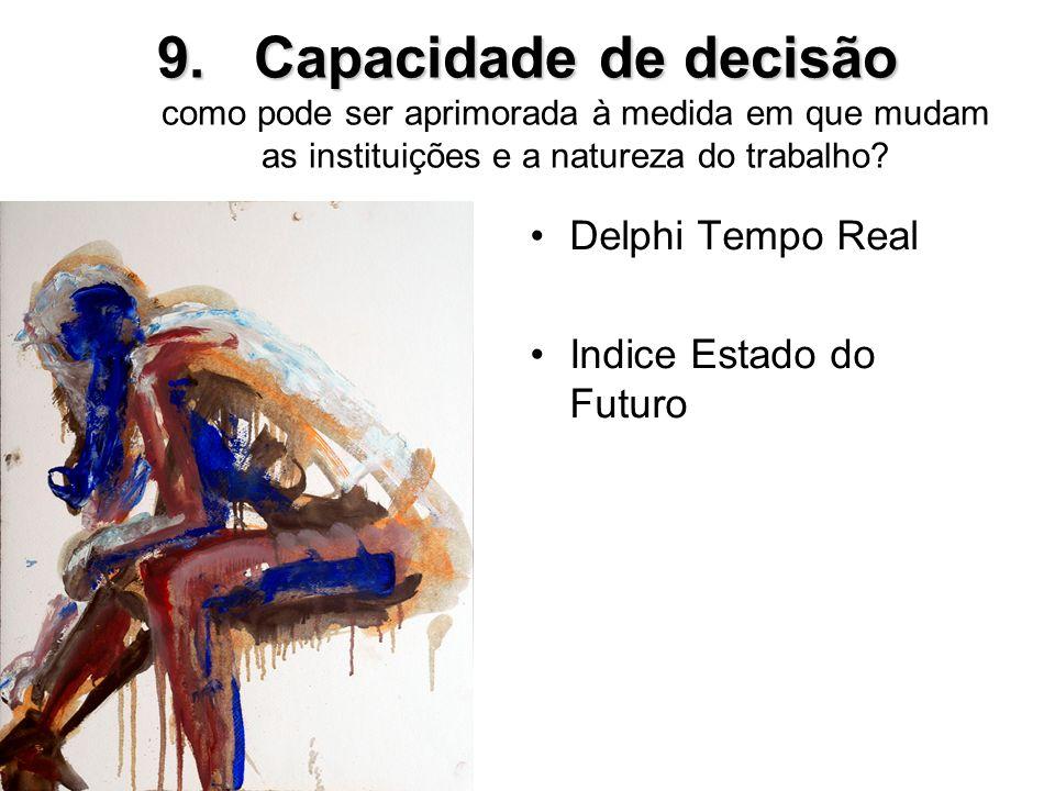 Capacidade de decisão como pode ser aprimorada à medida em que mudam as instituições e a natureza do trabalho