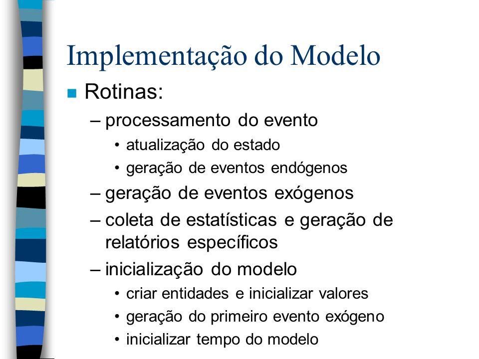 Implementação do Modelo