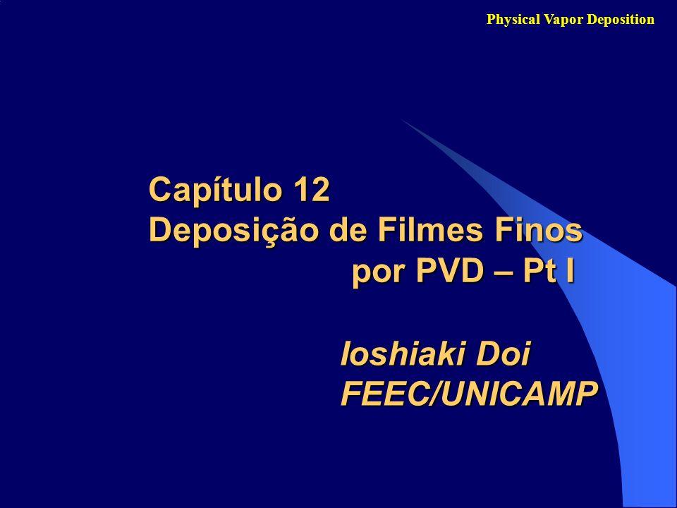 Capítulo 12 Deposição de Filmes Finos por PVD – Pt I