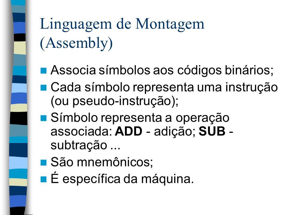 Linguagem de Montagem (Assembly)