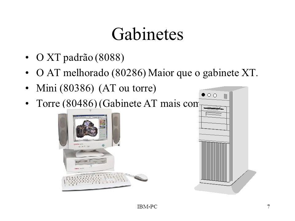 Gabinetes O XT padrão (8088)