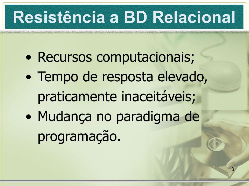 Resistência a BD Relacional