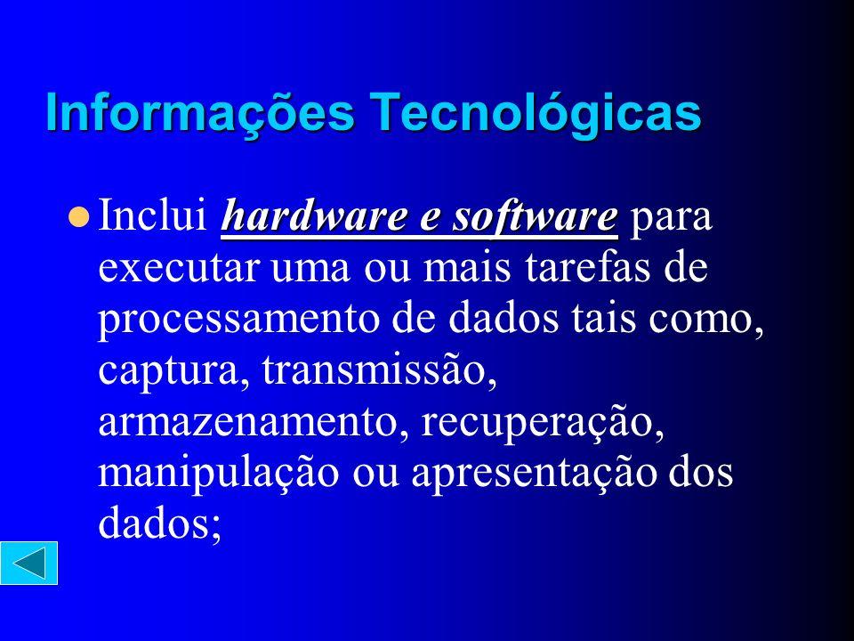 Informações Tecnológicas