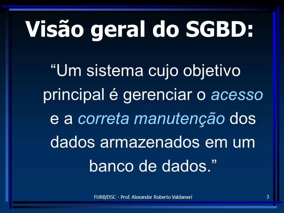 FURB/DSC - Prof. Alexander Roberto Valdameri