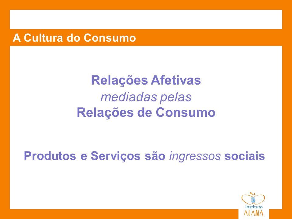 Relações Afetivas Relações de Consumo