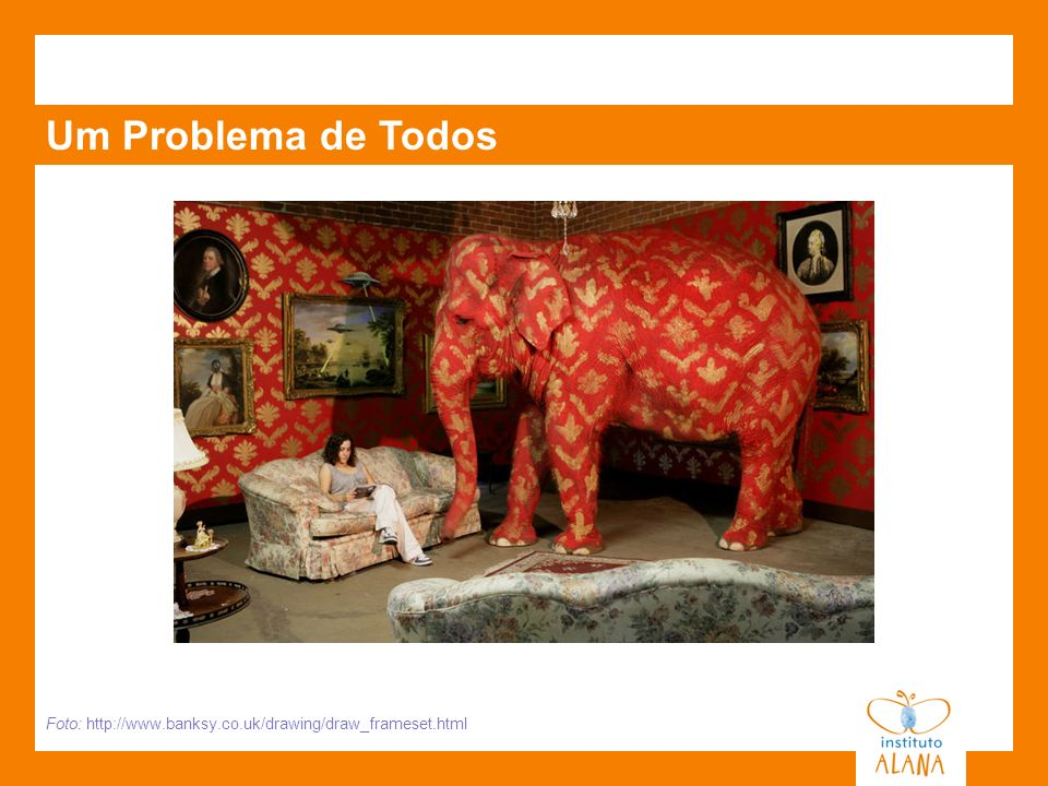 Um Problema de Todos Foto: http://www.banksy.co.uk/drawing/draw_frameset.html