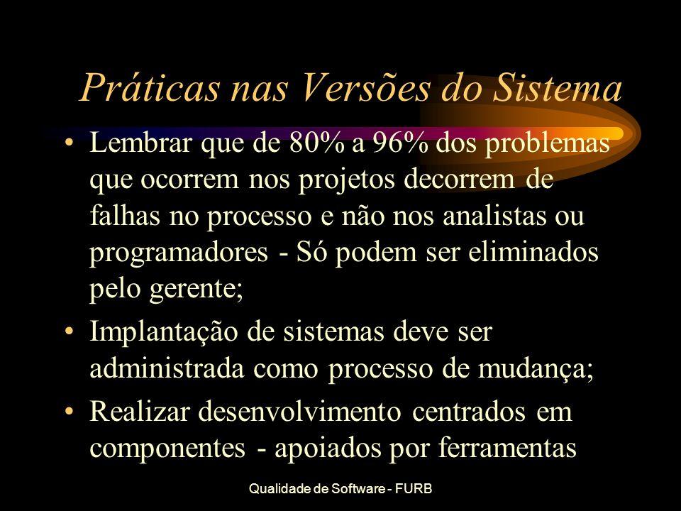 Práticas nas Versões do Sistema