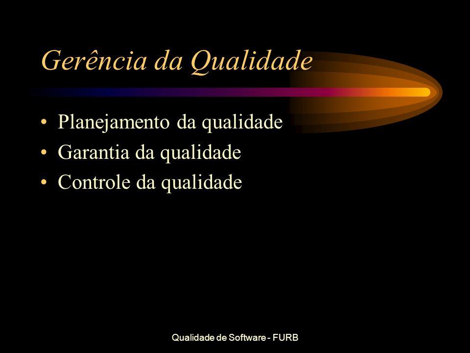 Qualidade de Software - FURB
