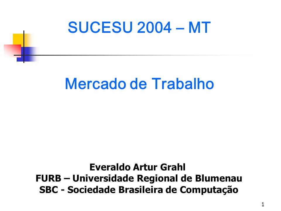 SUCESU 2004 – MT Mercado de Trabalho