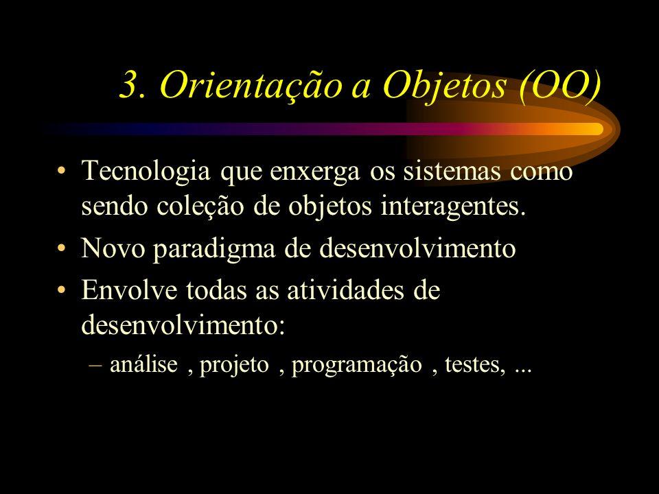 3. Orientação a Objetos (OO)