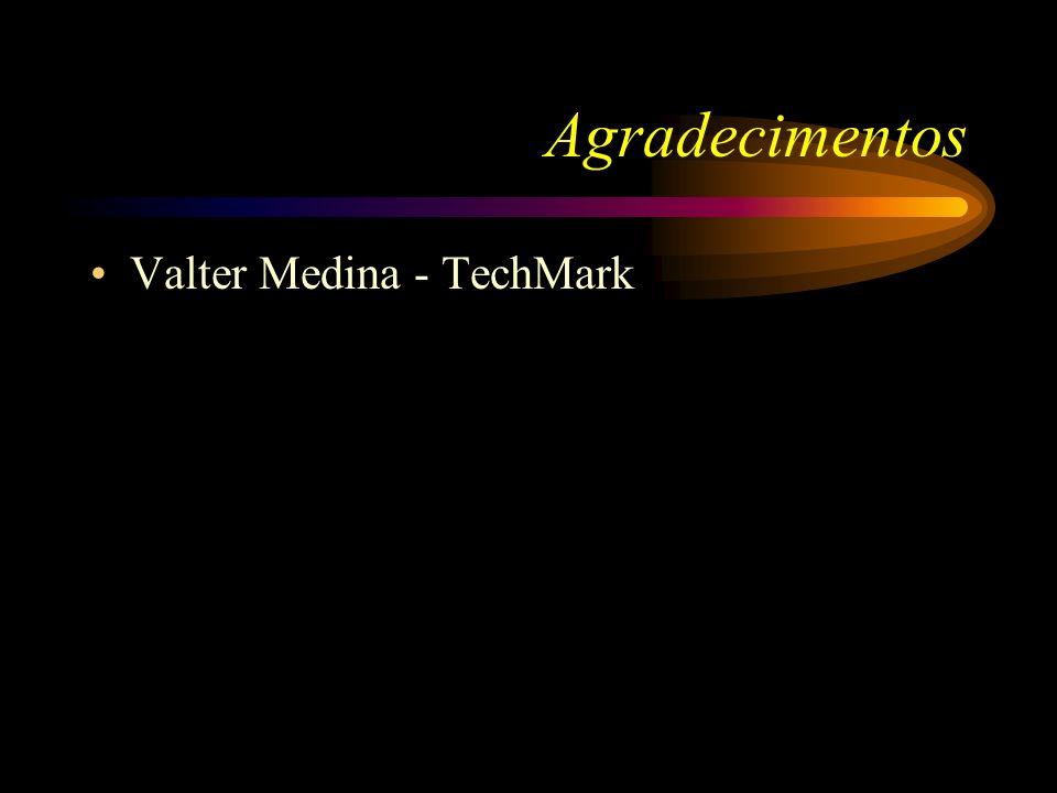 Agradecimentos Valter Medina - TechMark