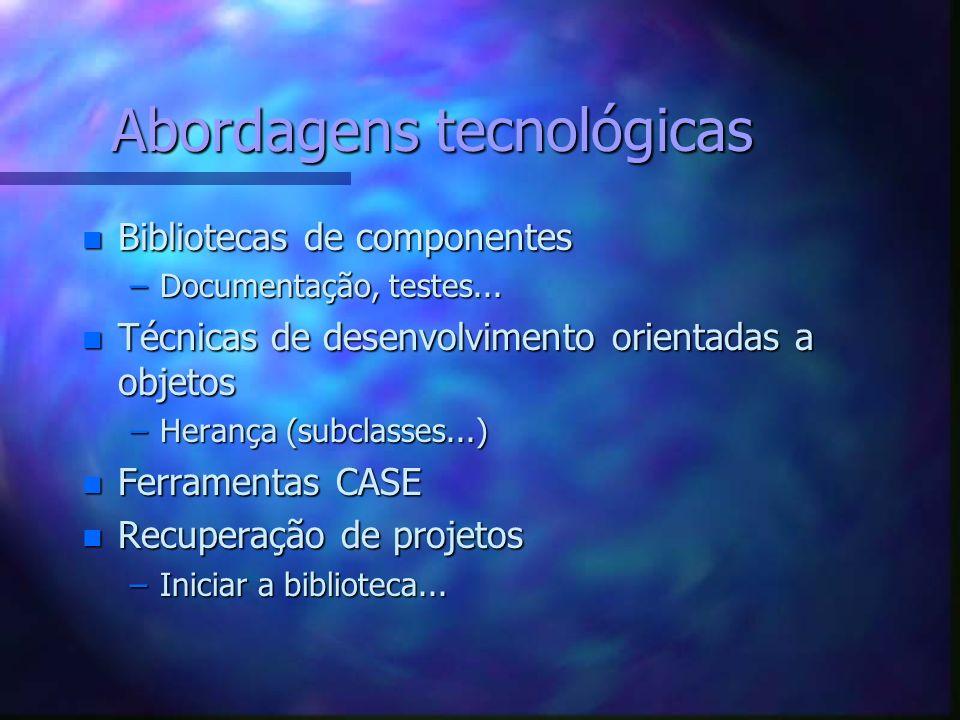 Abordagens tecnológicas