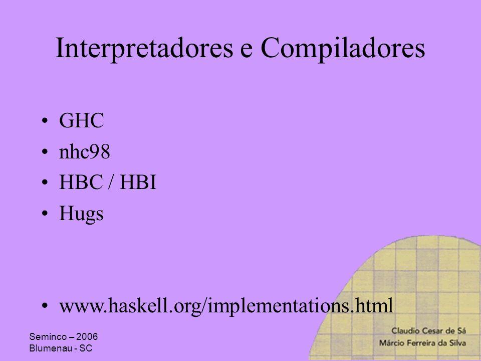 Interpretadores e Compiladores