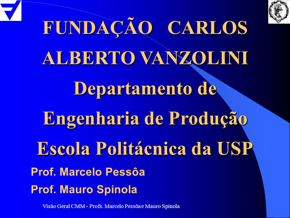 FUNDAÇÃO CARLOS ALBERTO VANZOLINI
