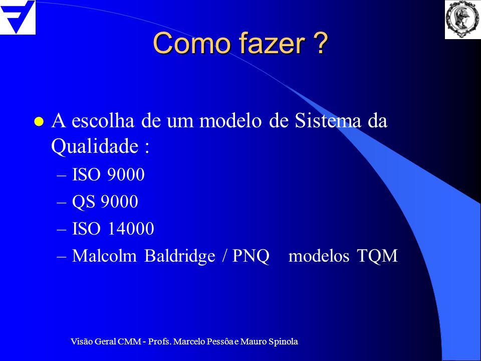 Como fazer A escolha de um modelo de Sistema da Qualidade : ISO 9000